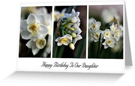 Happy Birthday To Our Daughter - Card by Joy Watson