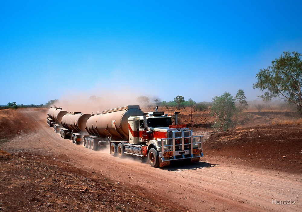 The Fastlane on the Tanami Track by Hanszio
