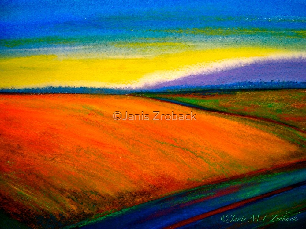 Landscape...Out in the Country by ©Janis Zroback