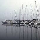 Foggy Yacht Club by CezB