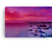 """Morning Ebb"" Canvas Print"
