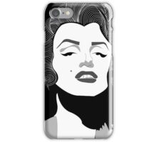 Marilyn Monroe Vector iPhone Case/Skin