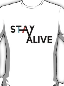 Twenty One Pilots Stay Alive symbol T-Shirt