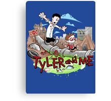 Tyler and Me Canvas Print