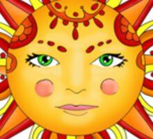 sun and moon sticker Sticker