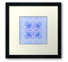 Pastel Cold Fleur Framed Print