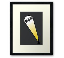 Barista Signal Framed Print