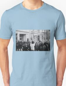 Poll Tax protestor, London Unisex T-Shirt