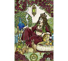 Queen of Pentacles Photographic Print