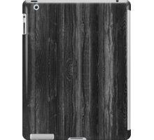 Black Wood iPad Case/Skin