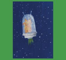 Cat in space Baby Tee