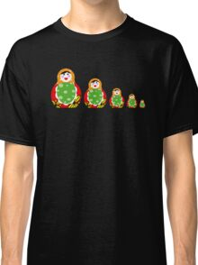 Cute Russian nesting dolls Classic T-Shirt