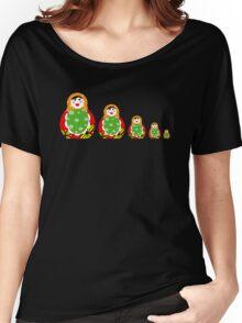 Cute Russian nesting dolls Women's Relaxed Fit T-Shirt