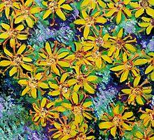 Yellowish Energy by Nira Dabush