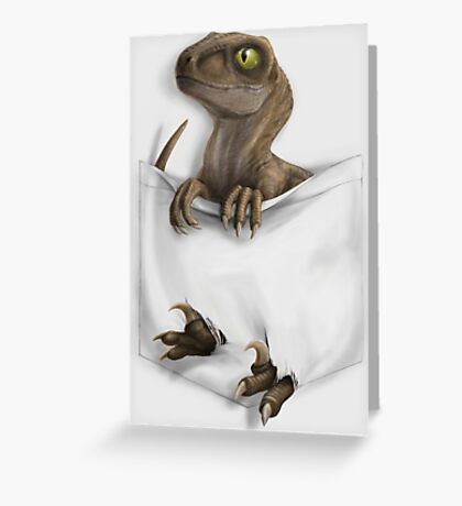 Pocket Protector - Clever Girl Greeting Card