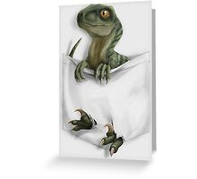 Pocket Protector - Charlie Greeting Card