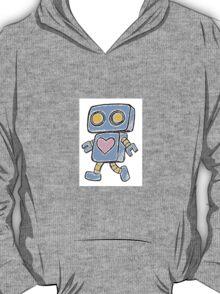 Single Love Robot (Blue) T-Shirt