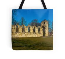 Ruins of St Mary's Abbey  -  York Tote Bag
