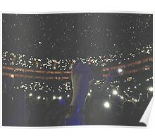 Concert Lights Poster