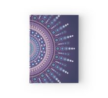 Blue Moon Burst Square Hardcover Journal