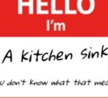 Kitchen Sink Sticker
