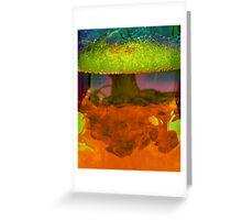 Bubble tree Greeting Card