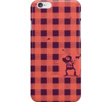 Almost a lumberjack pattern iPhone Case/Skin