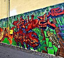 Graffiti in Denver by Jackson Killion