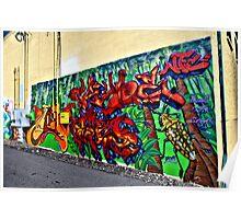 Graffiti in Denver Poster