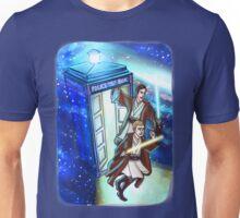Sherlock and John - Jedi in the Tardis Unisex T-Shirt