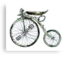 Painted Bicycle 3 Canvas Print