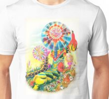 Psychedelic Caterpillar  Unisex T-Shirt