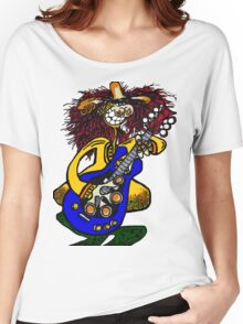 COOL GUITAR Women's Relaxed Fit T-Shirt