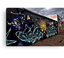 Street Art in Denver Canvas Print