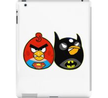 Batman vs superman angry birds iPad Case/Skin