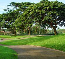 Mt. Malarayat Golf Course Pathway by walterericsy