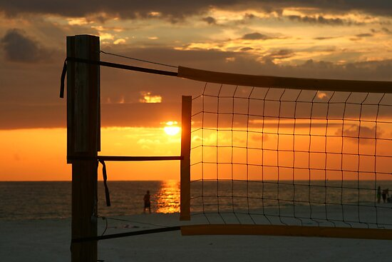 Sunset in a net by kinz4photo