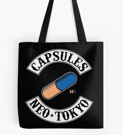 Neo Tokyo Capsules (Akira) Tote Bag