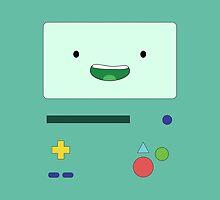 Adventure Time - Beemo by ryaaanward