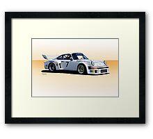 1977 Porsche 934.5 IMSA GT Framed Print