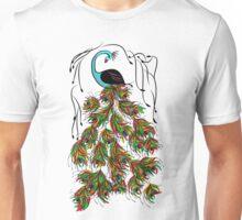 Vibrant Jungle Peacock Unisex T-Shirt