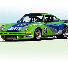 1974 Porsche 911 RSR IMSA GT by DaveKoontz