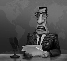 Newscaster by joehox