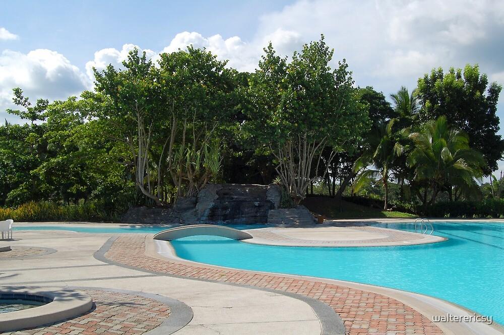 Mt. Malarayat Swimming Pool by walterericsy