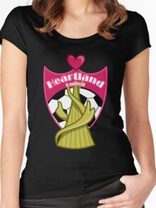 Yu-Gi-Oh! ZEXAL - Heartland United Women's Fitted Scoop T-Shirt