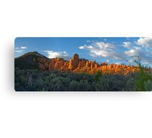 Red Canyon Panorama Canvas Print