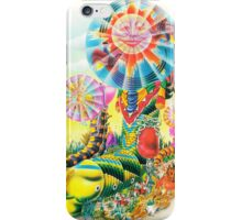 Psychedelic Caterpillar  iPhone Case/Skin
