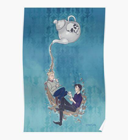 Johnlock Tea Time Poster