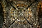 San Agustin Church Ceiling by Yhun Suarez