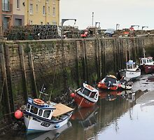 St andrews harbour by weecoughimages